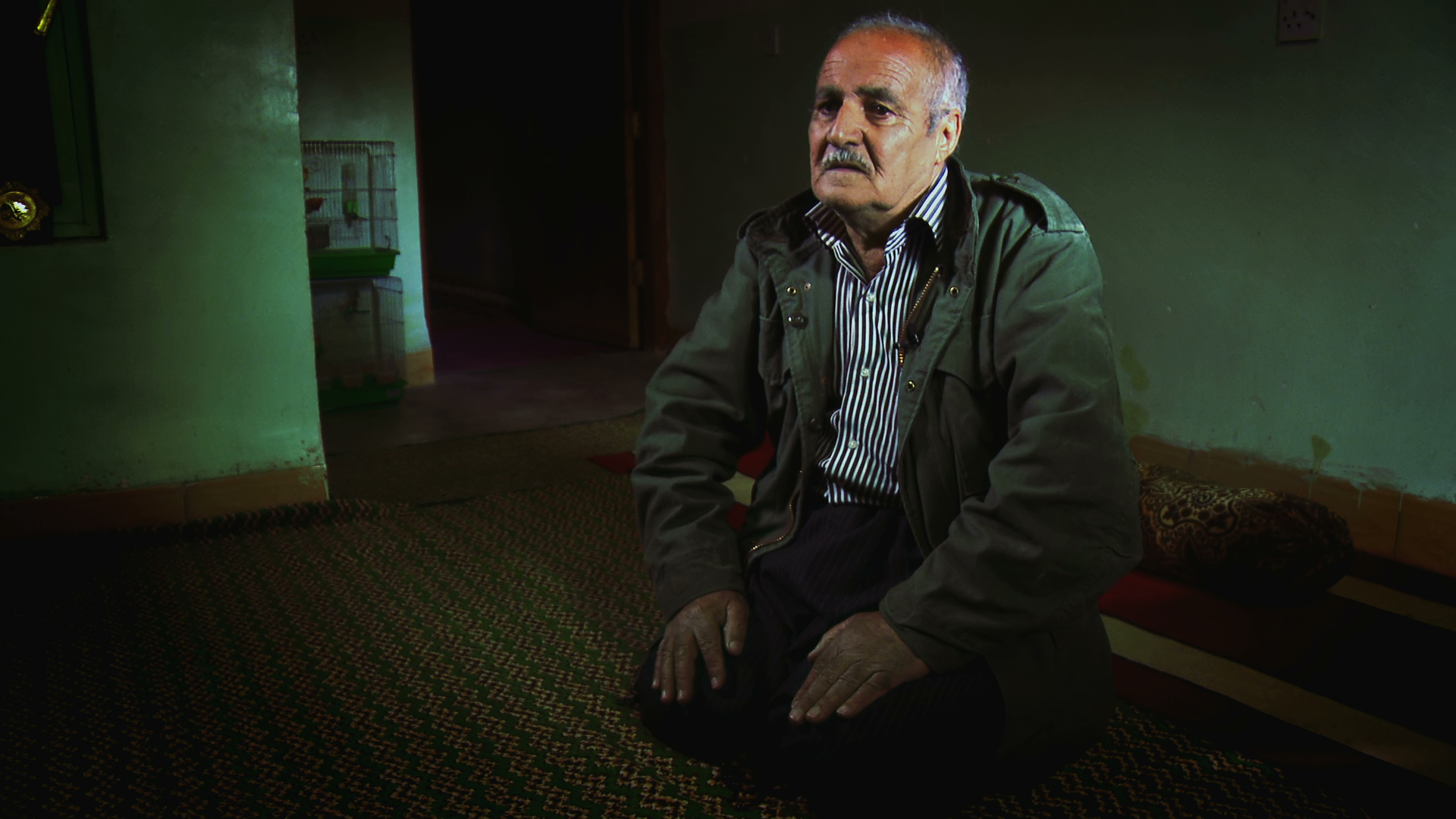 FARS AZIS AHMED from Serqala village attempted to find his two missing brothers during Anfal but discovered that only one of them, Said, was alive. He was in prison however. Days later, Said was executed in Kalar's Security Jail. Fars talks of his regret at not urging him to flee.