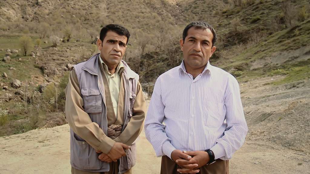 SHUKRI HASI ABDULLAH and LAZGEEN RASUL BARAKAT had an idyllic childhood in Guze in Bahdinan until the Iraqi army launched a chemical attack on the village. Surviving villagers hid in caves in the Gara Mountains, but were ultimately arrested. They were transported to prison camps where they were mistreated, tortured, and sometimes killed.