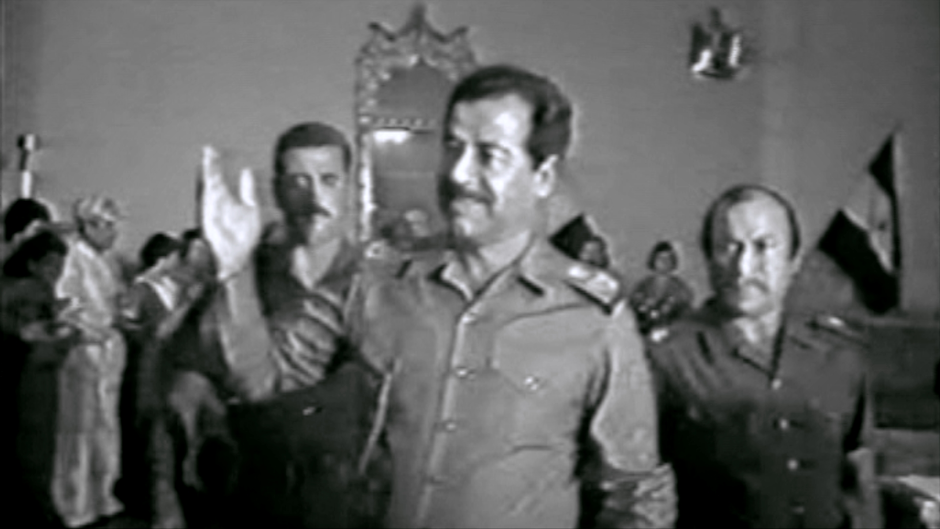 In late 1983, Saddam Hussein met Kurdish dignitaries in Erbil and suggested the missing 8,000 Barzanis, who had disappeared in July that year, had met a terrible end. The Barzanis were accused of having helped Iran in its war with Iraq.
