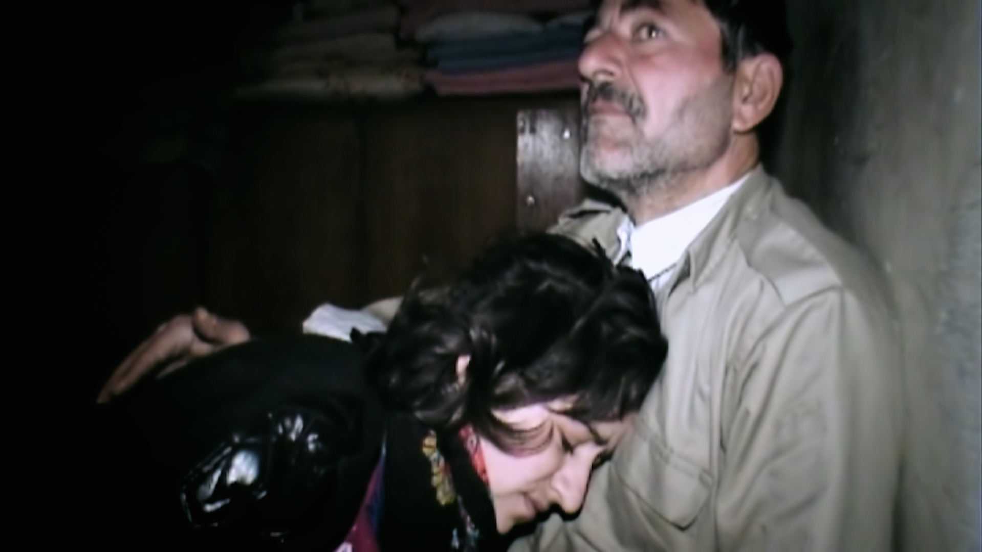 Mahmoud, a survivor of the chemical bombardment of Halabja, describes how more than 140 people died in his cellar. He remembers stepping on the body of his wife as he escaped into the street outside his house. His daughter survived but suffered a psychotic breakdown.