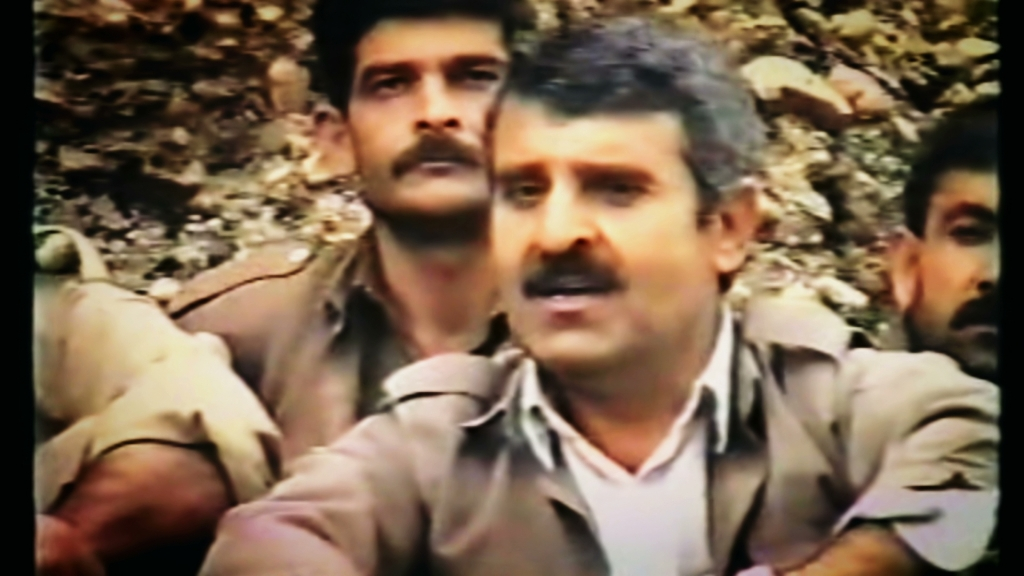 AZAD SAGERMA continued fighting Iraqi forces in the Garmiyan region even after their Anfal operations were officially terminated in September 1988. Badly injured in battle, he describes being taken to a mountain cave which served as a hospital for peshmerga. There, he was cared for until his wounds were healed.