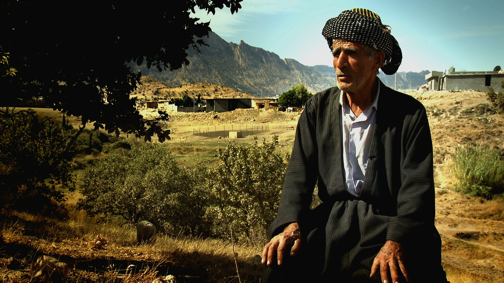 MAHMOUD RASUL MUSTAFA lost his wife, three sons and two daughters during Anfal. After the Kurdish uprising in 1991 he returned home to Aliawa village in the Qaradagh region but struggled to rebuild his life. In 2006 he testified against Saddam Hussein at the former Iraqi leader's trial in Baghdad. 3/3.