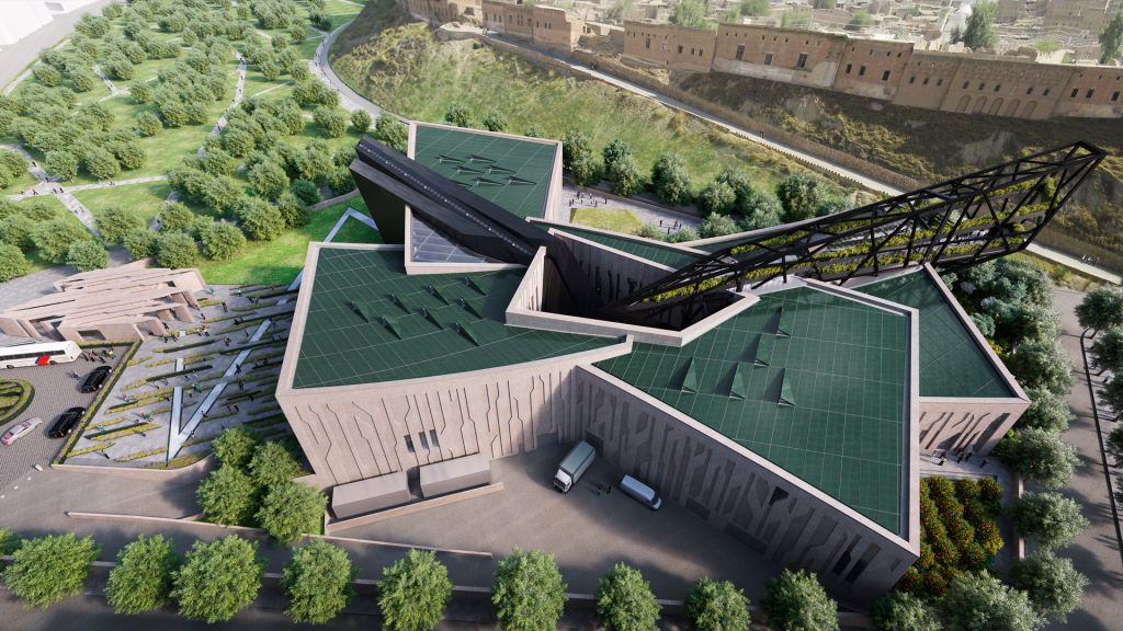 'Kurdish struggles are emblematic of universal struggles for freedom, for identity and for a country,' says Kurdistan Museum architect DANIEL LIBESKIND.